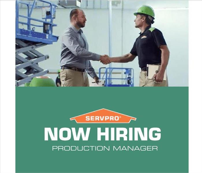 Fire Damage SERVPRO of Central Little Rock / Cammack Village Seeking Production Manager