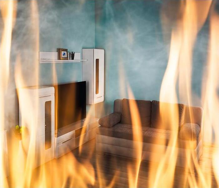 Fire Damage To Avoid Potential Hazards After A Fire In Your Little Rock Home, Call Our Experts For Assistance!